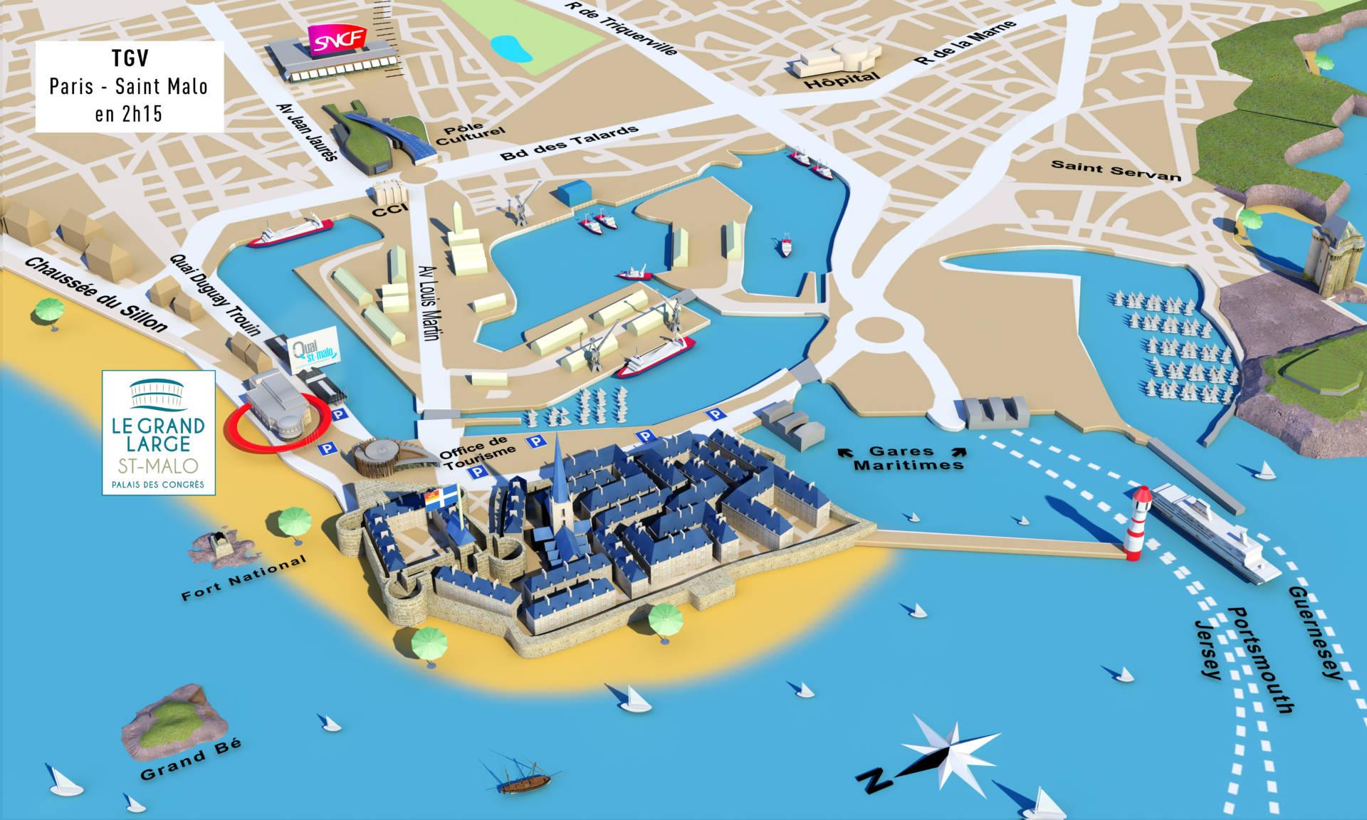 Plan de St Malo